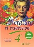 Littérature et expression 4e, livre de l'élève, édition 1998