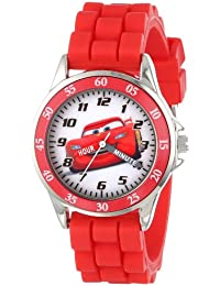 Boy's Quartz Metal and Rubber Watch, Color:red (Model:...