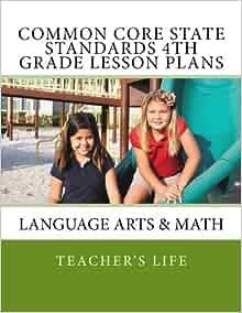 4th grade math books common core