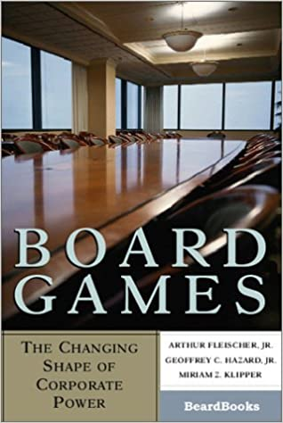 Book Board Games: The Changing Shape of Corporate Power