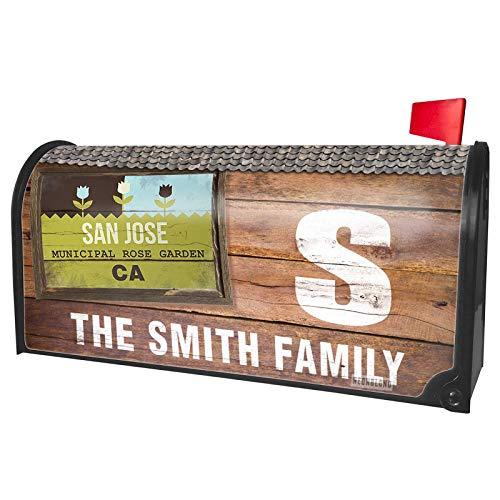 (NEONBLOND Custom Mailbox Cover US Gardens San Jose Municipal Rose Garden -)