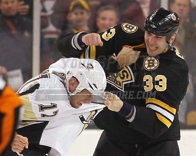 Zdeno Chara Boston Bruins Fight Pounding Rupp 8x10 11x14 16x20 1249 - Size 16x20