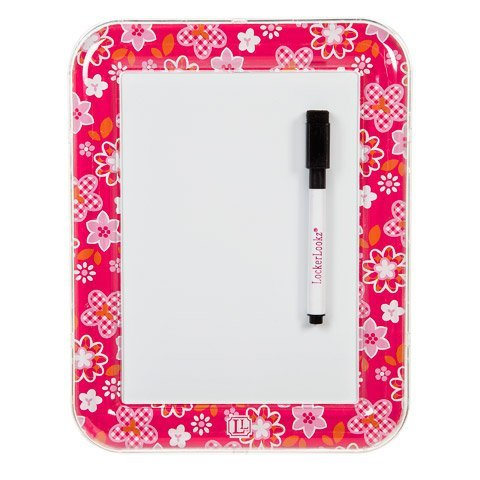 Erase Board Dry Flower (Lockerlookz (Tm) Magnetic White Board 7