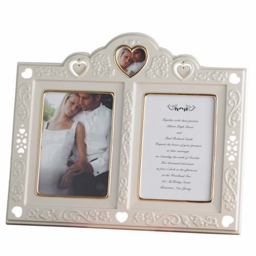 Lenox Floating Hearts Invitation Frame