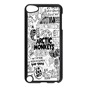 Unique Design -ZE-MIN PHONE CASE FOR Ipod Touch 5 -Music Band Arctic Monkeys Pattern 1