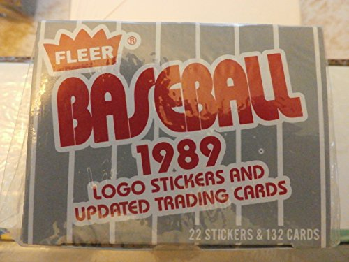 1989 Fleer Update Set (MLB - Baseball - 132 Cards) (Factory Sealed)
