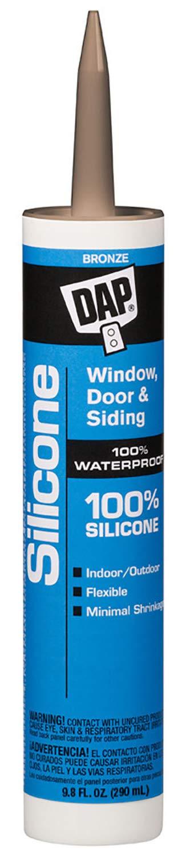 Dap 08641 Dow Corning Clear Silicone Sealant 10.1-Ounce