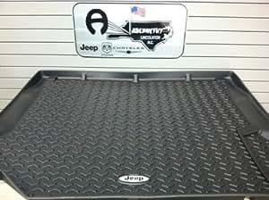 Amazon.com: Jeep Wrangler 07-2010 Rear Cargo Rubber Floor
