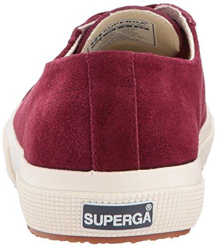 Superga Mujeres 2750 Sueu Fashion Sneaker Bordeaux
