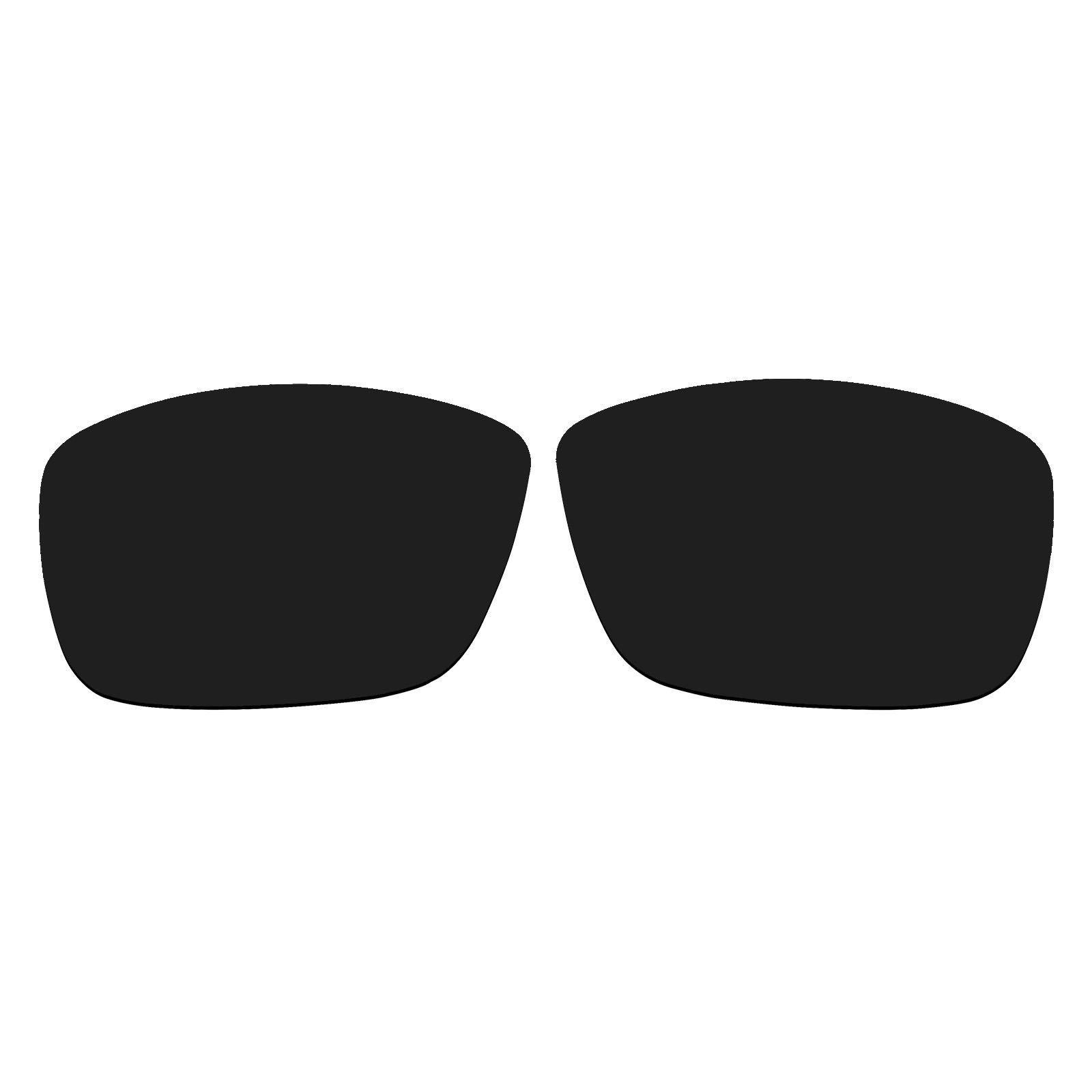 Polarized Replacement Sunglasses UV Lenses for Spy Optic Rocky- Black