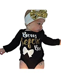 Onesie,Singleluci Baby Girl Cute Long Sleeve Romper...