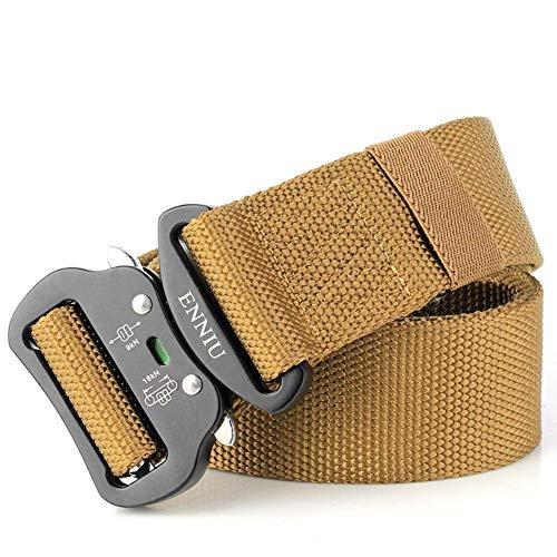 Più votati di modo attraente miglior valore XUE Cintura uomo fibbia automatica in nylon, chiusura rapida ...