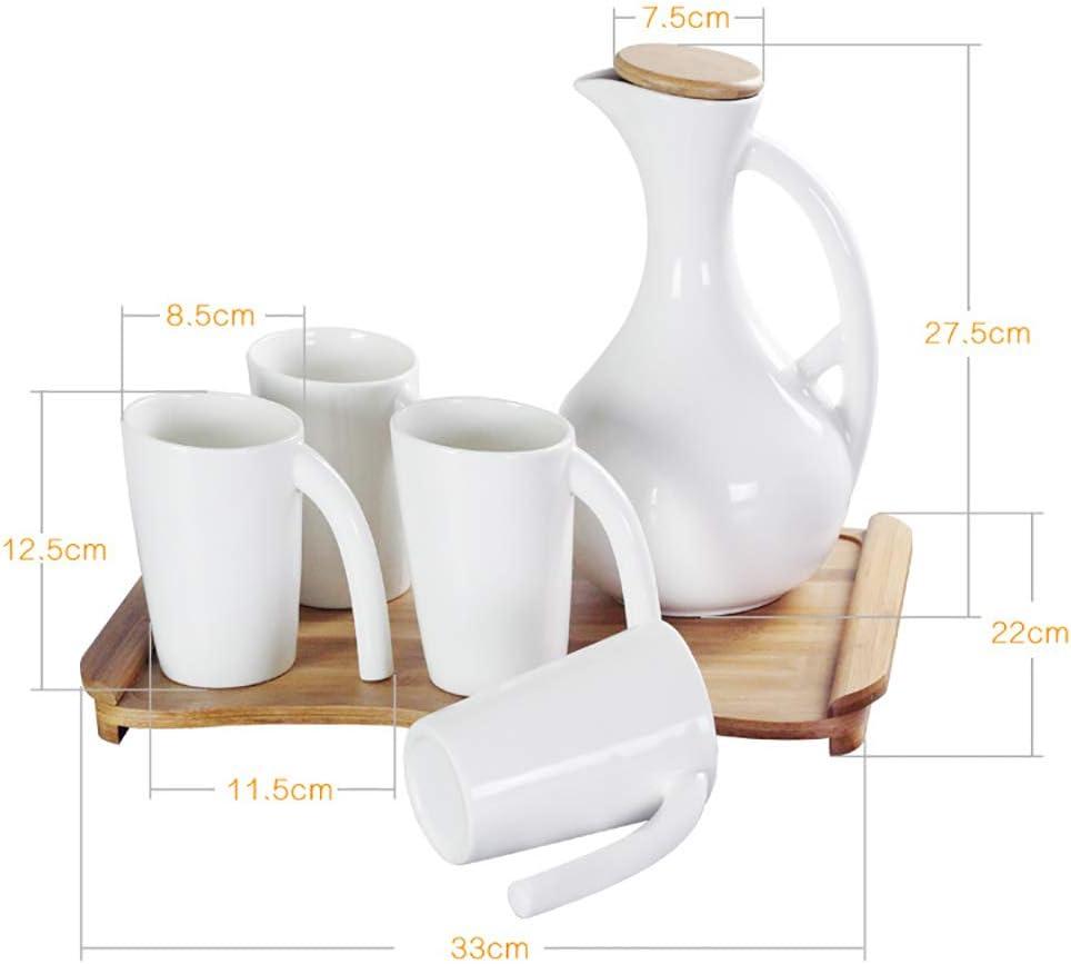 Wiwei - Cafetera de Porcelana Blanca con Tapa (Porcelana Fina ...