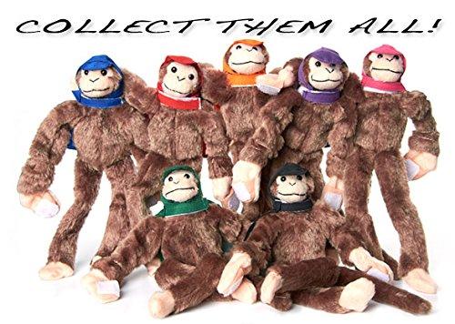 Original Woot! Collectible - Slingshot Flying Screaming Monkey - Orange