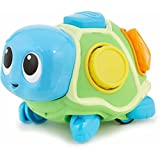 Little Tikes Scoot-Around Elephant Ride-On Toy and Little Tikes Lil' Ocean Explorers Crawl 'n Pop Turtle