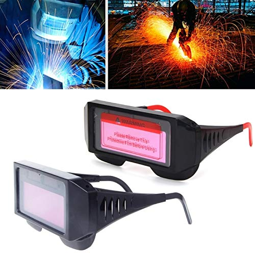 YUANYUAN521 1Pc New Pro Solar Auto Darkening Welding Mask Helmet Eyewear Goggles Welder Glasses by YUANYUAN521