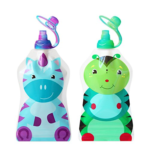 ChooMee Reusable Pouch Caterpillar Unicorn product image