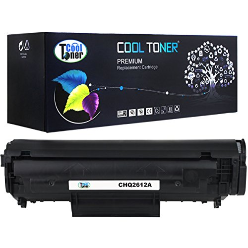 Cool Toner 1 Pack 2,000 Pages Compatible Toner Cartridge Replacement For HP 12A Q2612A Q2612 Used For HP LaserJet 1010 1012 1018 1020 1022 3015 3050 1015 3020 3030 3052 3055 imageClass MF4150