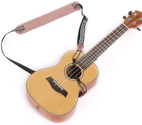 Timesjoy Correa de hombro de doble gancho, sin perforaciones para guitarra clásica, guitarra eléctrica, guitarra acústica, bajo, ukelele, clip en J Hook sin perforación: Amazon.es: Instrumentos musicales