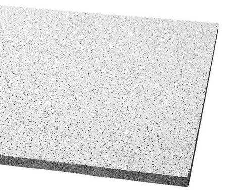 Acoustical Ceiling Tile 48''X24'' Thickness 5/8'', PK8
