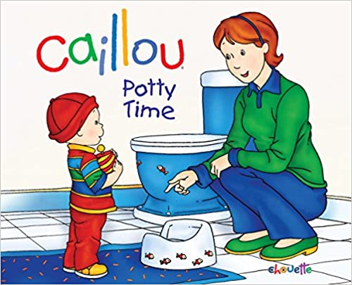 Book Caillou: Potty Time (Hand in Hand)