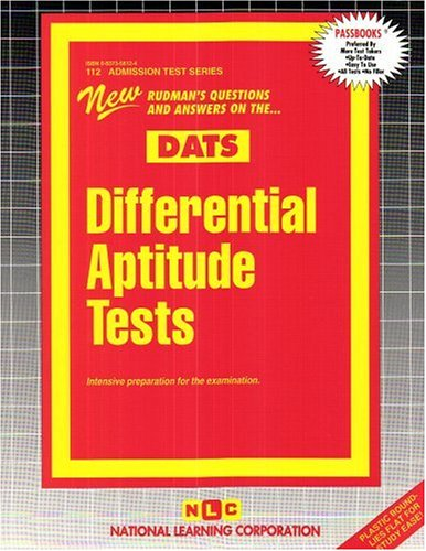 Differential Aptitude Tests (Admission Test Series)