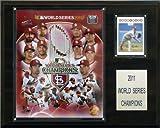 St. Louis Cardinals 2011 World Series 12 x 15 Plaque