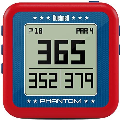 Bushnell Phantom Golf GPS, Red/Blue (Garmin Gps Watch Golf)