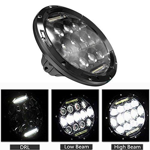 "Fanala 2x 7inch 75W 7"" LED Headlight H4"