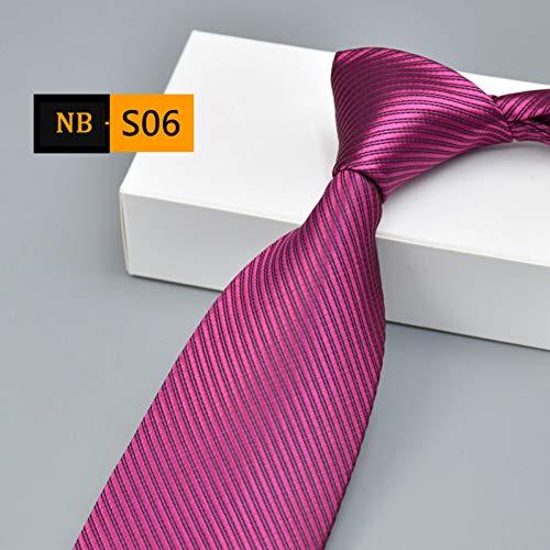 WOXHY 8c'm Men's Solid Color Mens Neck Tie Ties for Men Slim Red Necktie Gravata Masculina Cravate Pour Homme Kravat Cravatte Cravatta