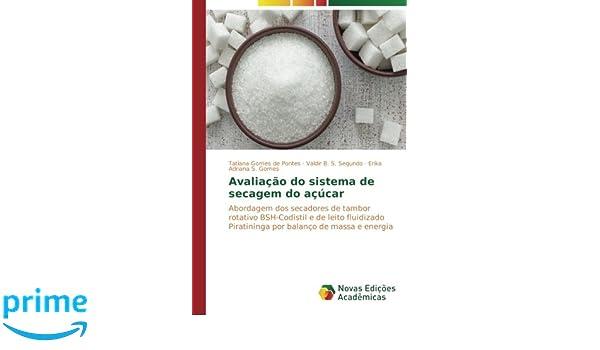 Avaliação do sistema de secagem do açúcar: Abordagem dos secadores de tambor rotativo BSH-Codistil e de leito fluidizado Piratininga por balanço de massa e ...