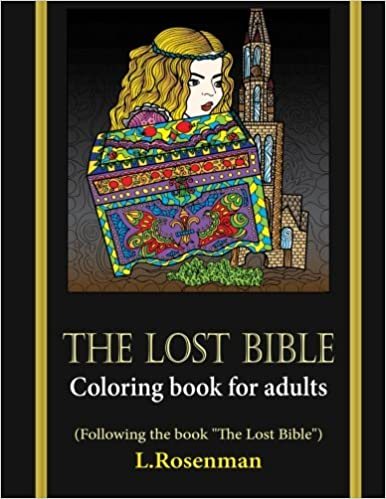 Book The Lost Bible-coloring book: European love stories and landscapes Based on the novel 'The Lost Bible'