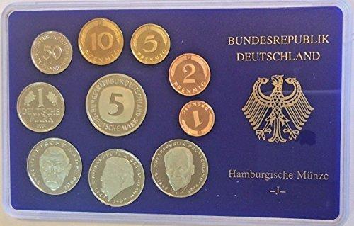 - DE 2001 2001 J Germany Deutsche Mark Coin Set Special Edi Good