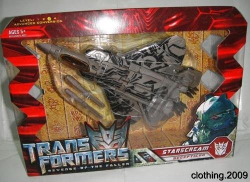 Transformers Heatwave Costume (NEW Transformers ROTF Voyager Class STARSCREAM figure In Stock)