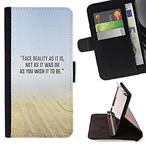 Momo Phone Case / Flip Funda de Cuero Case Cover - Arena Desierto Mist Amarillo Azul N Naturaleza - Samsung Galaxy S5 Mini, SM-G800