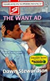 img - for The Want Ad (Harlequin Superromance No. 795) book / textbook / text book