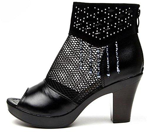 gruesas sandalias fish shoes fishnet ladies fish 11 fish womens Roman KUKI fwOaqz6