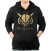 SuperFF Men's Vanoss Gaming Gold Owl Hooded Sweatshirt
