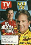 Justin and Terry Labonte, NASCAR 2000 (One of Four Collector's Covers), Carmen Ejogo, Marc Anthony - February 12-18, 2000 TV Guide Magazine