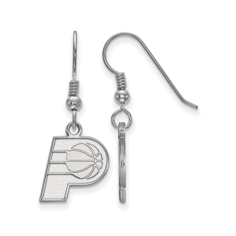 NBA Indiana Pacers Small Dangle Earrings in Sterling Silver