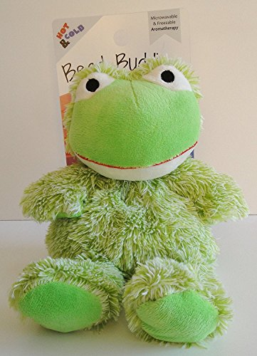 Bead Buddies Aromatherapy - Microwavable and Freezable (Green Frog)