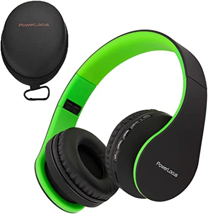 PowerLocus Cuffie Bluetooth Senza Fili Over Ear, [Bluetooth