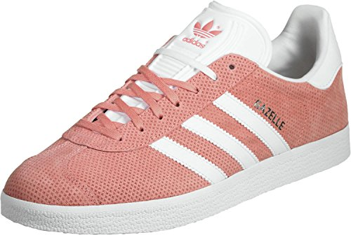 adidas Gazelle Trainers Pink rose blanc