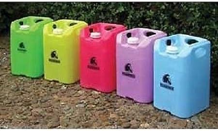 Square Water Carrier / Container Warhorse - Recipiente Cuadrado para Agua con Boquilla (30 L), Color Azul