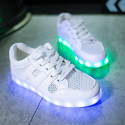 Unisex JUNGLEST® Shoes small Charging LED Present Kids towel USB c5 and Luminous Straps Hook Sports Loop 6wtUnndqEY