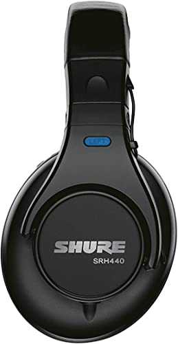 Shure SRH440 Professional Studio Headphones review