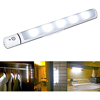 wireless closet lighting. echeng motion sensor night light battery powered wireless led bar with magnetic closet lighting