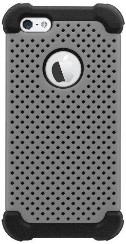 Katinkas KATIP51013 Hard Cover für Apple iPhone 5 Tough Air grau