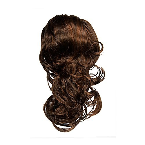 (I&K Tonga 20 Soft Wave Hair Piece Ponytail Extension Natural Colours (Chocolate Copper R6/R30) by I&K)
