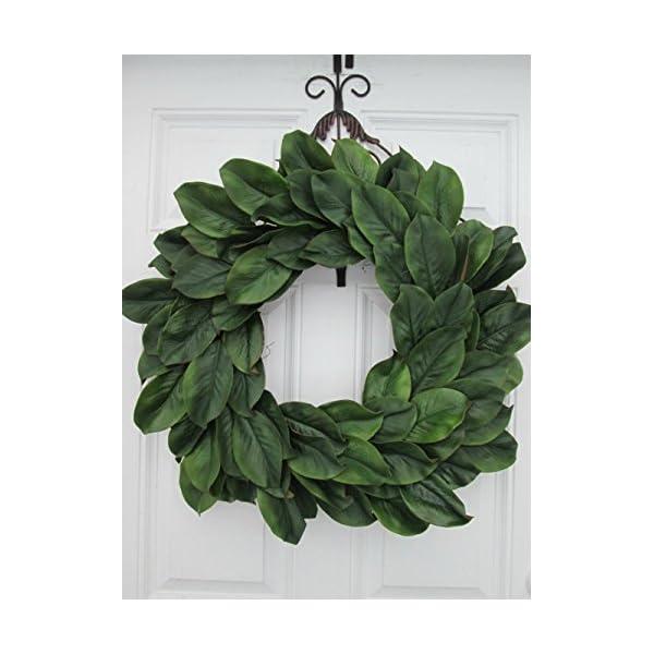 LARGE Magnolia Wreath~ Large Magnolia Door Decor~ Magnolia Leaf Door Wreath~Rustic Magnolia Wreath~Farmhouse Style Door Decor ~ Rustic FarmHouse Inspired Wreath